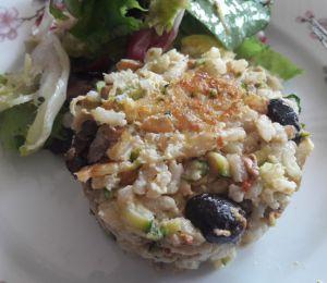 Recette Frittata au riz et aux légumes
