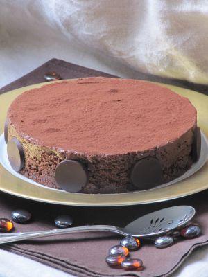Recette Gâteau double chocolat pour la fête des pères