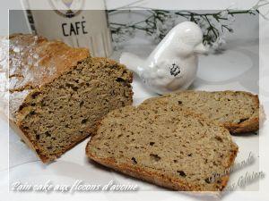 Recette Pain cake sans gluten, farine de teff, coco et flocon d'avoine