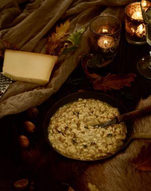 Recette Risotto de crozets au beaufort et au thym