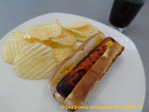 Recette Hot-dog grillés