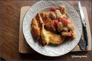 Recette Nuggets de poulet au four , chapelure panko
