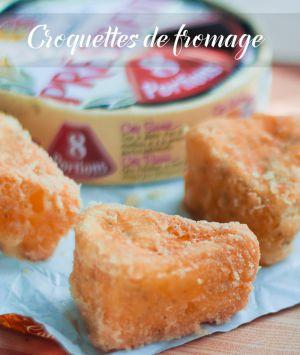Recette Croquettes de fromage