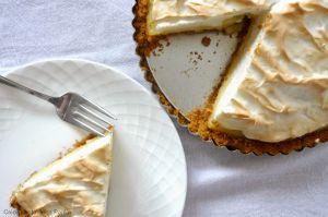 Recette Tarte au citron et meringue à l'Amaretto