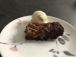 Recette Brownie au beurre de cacahuete
