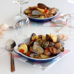 Recette Filet Mignon de Porc aux Palourdes