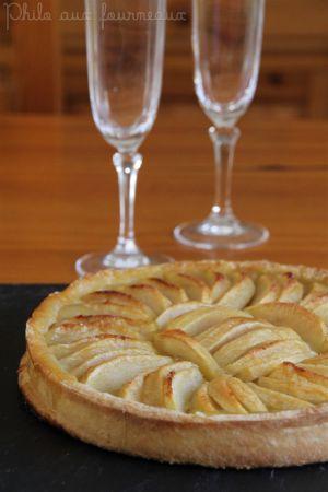 Recette Tarte aux pommes (CAP)