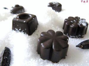 Recette Chocolats ganache fève tonka