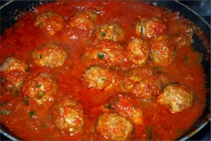 Recette Boulettes sauce tomate cookeo