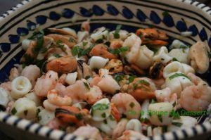 Recette Salade de fruits de mer à l'italienne