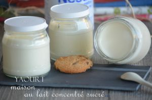 Recette Yaourts maison au lait concentré sucré...très crémeux