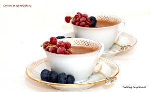 Recette Pudding de Pommes