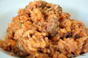 Recette Riz à la chair à saucisse (Cookeo)