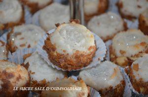 Recette Gâteau algérien à la noix de coco moelleux
