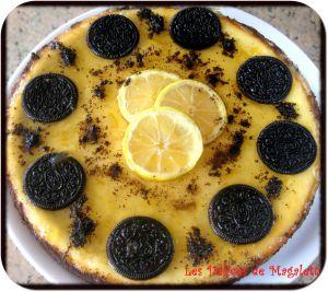 Recette Cheesecake Oreo Citron