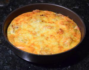 Recette Clafoutis d'endives au bacon (IG bas)