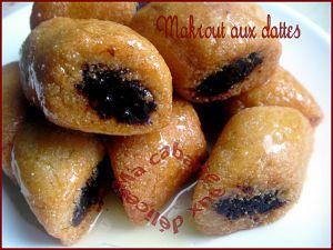 Recette Makrout aux dattes & amandes