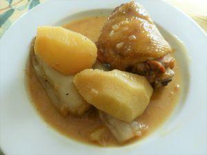 Recette Cuisses de poulet au cidre