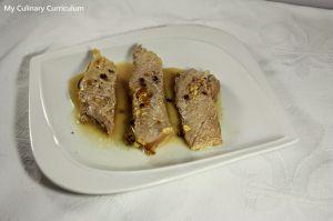 Recette Rouelle de porc à la moutarde (Rouelle pork with mustard)