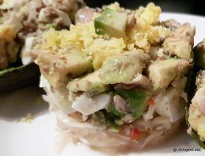 Recette Salade mimosa d'avocat et sardines