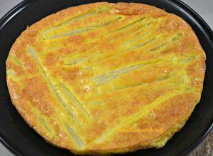 Recette Frittata aux asperges blanches et au parmesan