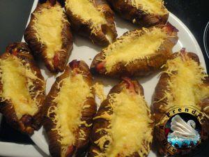 Recette Croissants au jambon