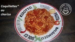 Recette Coquillettes au chorizo (cookéo)