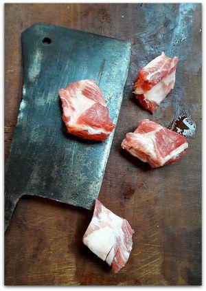 Recette A la table d'une famille chinoise - Travers de porc aux haricots noirs et courge