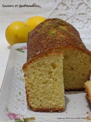 Recette Cake au citron et à l'huile d'olive