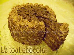 Recette Tout chocolat