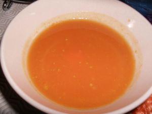 Recette Soupe a la citrouille