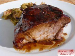 Recette Rouelle de porc, façon Thanksgiving ham