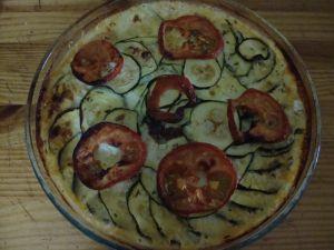 Recette Hachi aux courgettes et tomates