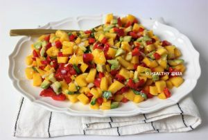 Recette Mango salsa