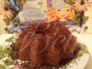 Recette Pudding au Chocolat avec Cuajada / Pudim de Chocolate com Cuajada