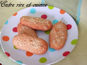 Recette Doigts de fée aux Amandes (biscuits secs)
