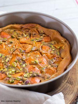 Recette Far aux abricots et pistaches