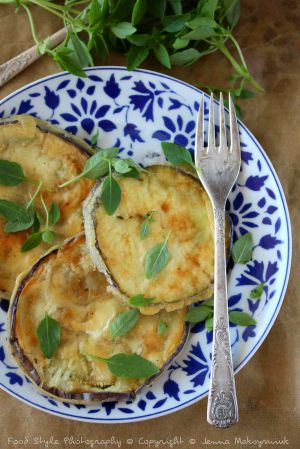 Recette Aubergine ronde en tempura vegan