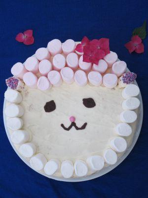 Recette Gâteau anniversaire mouton (gâteau au citron vert)