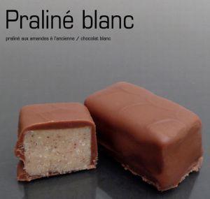 Recette Chocolats fins : les pralinés amandes