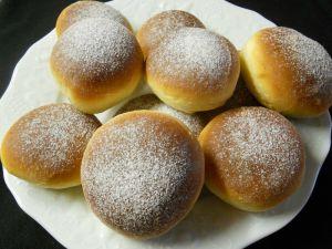 Recette Beignets fourrés à la pâte à tartiner (et au four)