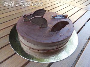 Recette Devil's food cake