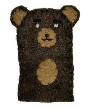 Recette Marionnettes de doigt – petit ours brun