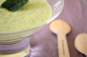 Recette * Soupe de Courgettes et Fromage frais *
