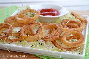 Recette Oignons frits au paprika fumé (Onion rings)