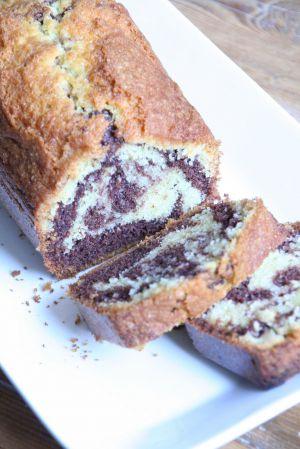 Recette Quatre-quart marbré à la poudre de cacao Weiss