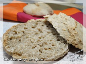 Recette Petits pains ou pains à hamburger sans gluten