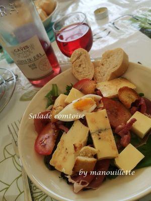 Recette Salade comtoise