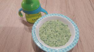 Recette Petit pot de polenta épinard et parmesan (9 mois)