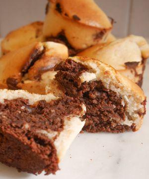 Recette Muffins marbrés vegan